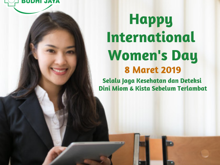 Promo Deteksi Dini Miom & Kista Dalam Rangka International Woman's Day