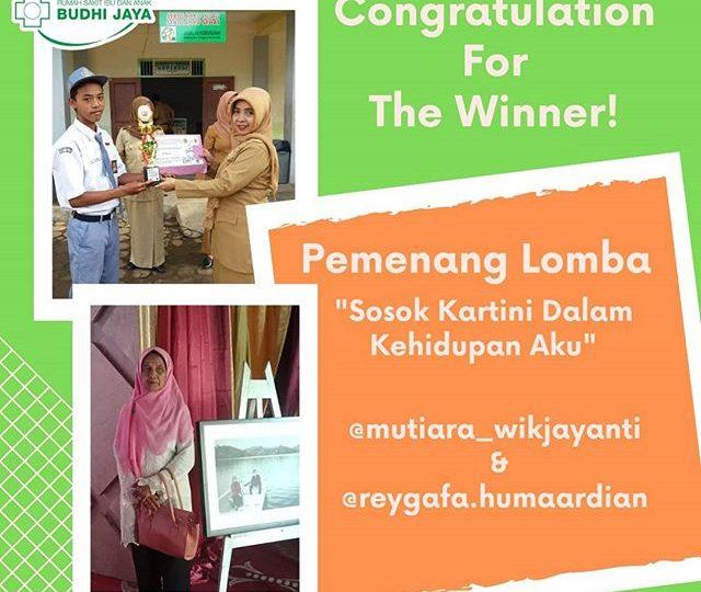 Selamat Kepada Para Pemenang Lomba Kartini