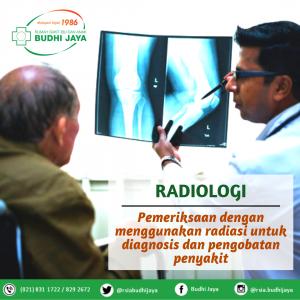 Penegakan Diagnosa Dengan Pemeriksaan Radiologi