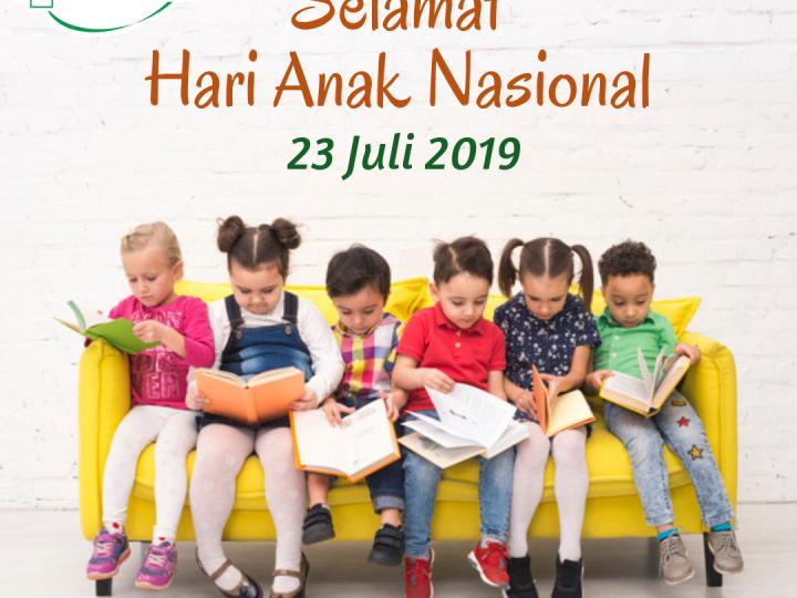 Selamat Hari Anak Nasional 23 Juli 2019