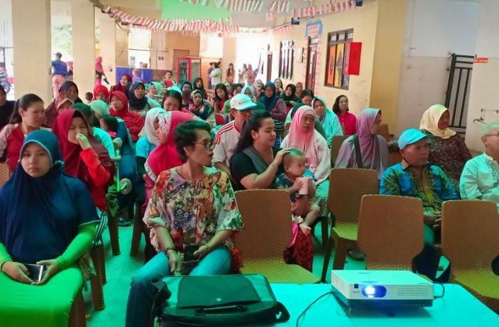 Edukasi Stunting-Rusunawa Komarudin, Cakung