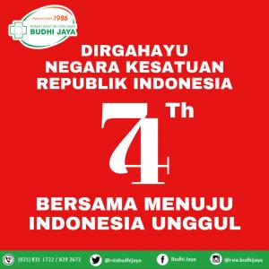 Dirgahayu Republik Indonesia Ke-74 Tahun