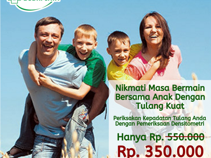 Promo Pemeriksaan Densitometri