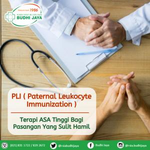PLI (Paternal Leukocyte Immunization)-Terapi ASA Tinggi Bagi Pasangan Yang Sulit Hamil