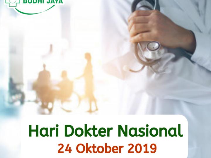 Hari Dokter Nasional, 24 Oktober 2019