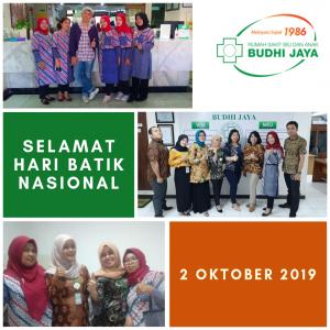 Selamat Hari Batik Nasional, 2 Oktober 2019