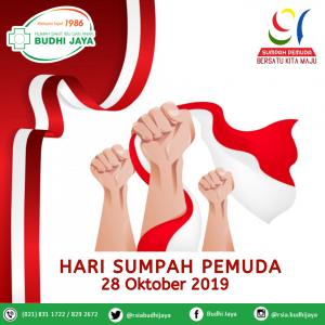 Selamat Hari Sumpah Pemuda, 28 Oktober 2019