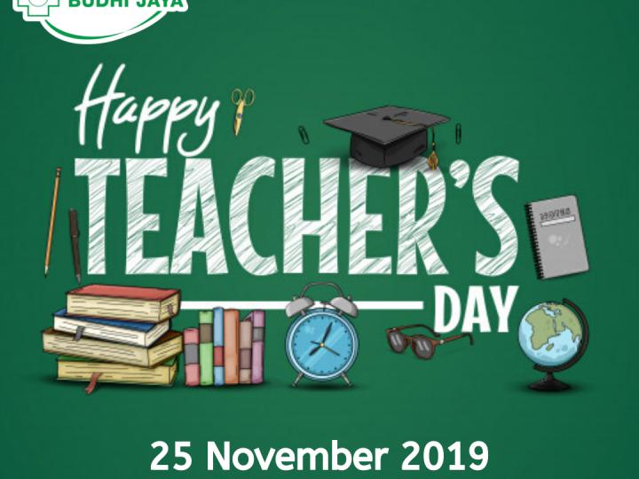 Selamat Hari Guru Nasional, 25 November 2019