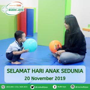 Selamat Hari Anak Sedunia, 20 November 2019