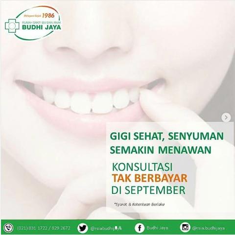 Gigi Sehat, Senyuman Semakin Menawan